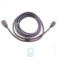 Удлинитель USB гнездо/штекер 5m с ферритовым фильтром