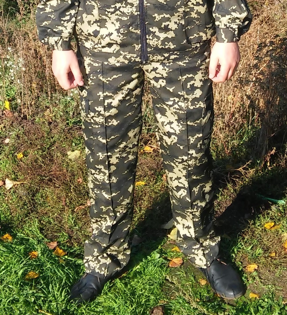 Штаны камуфляжные Пиксель темные 46-64р оптом