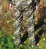 Штаны камуфляжные Пиксель темные 46-64р оптом, фото 3
