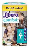 Подгузники Libero Comfort , размер 4 (7-11 кг), 84 шт.