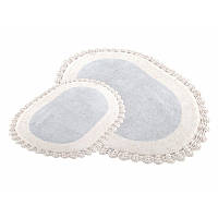 Набор ковриков для ванной 40х60+60х90 Despina серый Irya