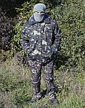 Бушлат камуфляж зимний мех + синтепон р.48-58, фото 6