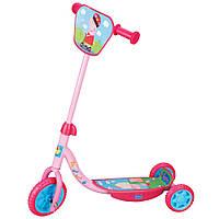 Детский скутер трехколесный Peppa лицензированный gТ57644