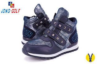 Детские ботинки Jong Golf для девочек (весна-осень), р-р 32-37 (С) (8 ед в уп)