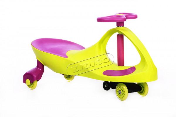 Дитяча машинка Smart Car new green+purple до 100кг