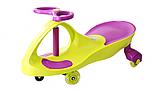 Дитяча машинка Smart Car new green+purple до 100кг, фото 3