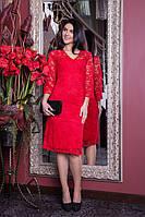 Гипюровое женское платье