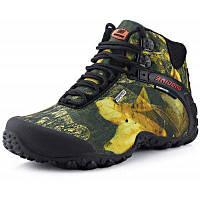BAIDENG камуфляжные скальные туфли высокие сапоги для мужчин
