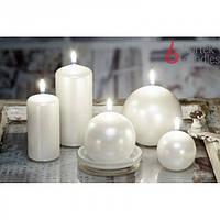 """Свеча для праздничного интерьера """"Классик"""" SW3736,  цилиндр, 130 мм, Столовые свечи, Свечки для Нового Года, Праздничные свечи"""