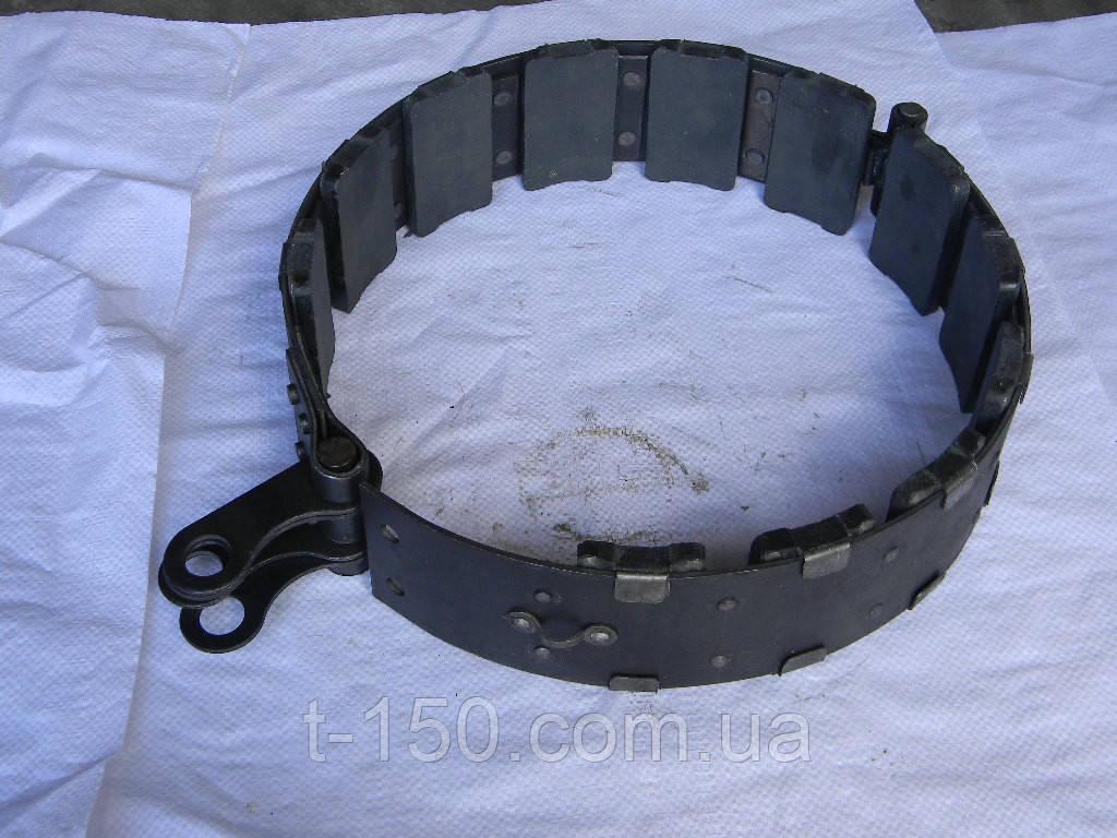Лента остановочная ДТ-75  тормозная (с колодками) (77.38.040-2)