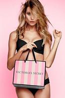 Подарочный пакет средний Victoria's Secret р.М (24см.х20см.х10 см) , фото 1