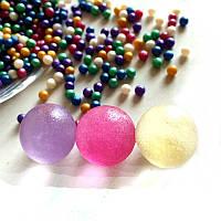 Пакет 100 шт. шарики Орбиз 16 мм, перламутр, растут в воде Orbeez гидрогель гідрогель кульки Орбіз