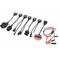 Инструмент 8 шт. автомобиля кабель-адаптер диагностический сканер Чёрный