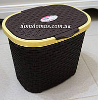 "Корзина для хранения 5,5 л ""Rattan"" Tuppex, Турция, коричневая"