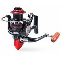 LK3000 12+1 Алюминиевый шарикоподшипник рыболовная спиннинговая катушка черный и красный