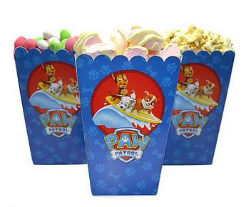 Коробочки для конфет Щенячий патруль 5 штук