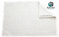 Коврик в ванную комнату Лапша (белый) 50х80 см