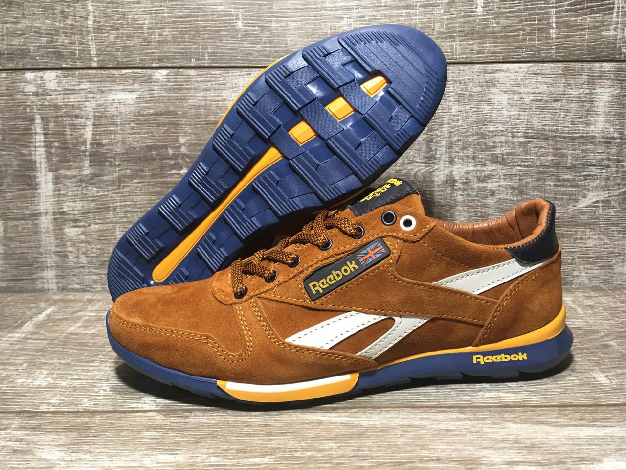Мужские кожаные кроссовки Reebok 42 - Интернет-магазин обуви