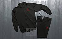 Спортивный костюм Venum черного цвета (люкс копия)