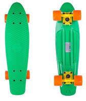 Скейт Candy 22 Green/Orange