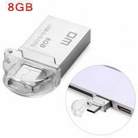 DM PD008 8G USB 2.0 и микро USB OTG флэш-накопитель загрузочная флешка 8гб