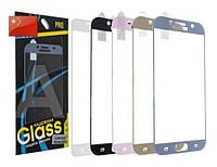 Защитное стекло FULL SCREEN Triplex IPhone6 глянец (белый)