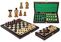Шахматы коричневые Medium Kings Медиум Кингс, Арт. 3112, фото 1