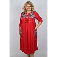 Элегантное платье большого размера 62/64, 66-68 лен 100% хлопок