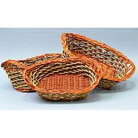 Плетений кошик для продуктів WH3873, з 3 шт, Їжа, перенесення для їжі, Декоративні кошики