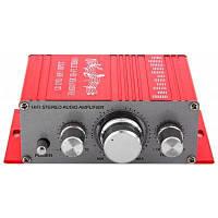 Хы-2001 Привет-Fi стерео аудио Усилитель Красный