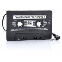 Автоматический передатчик адаптер кассеты для MP3 / CD / DVD-плеера Чёрный