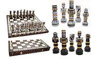 Шахматы с напылением GLADIATOR Гладиатор, черные, Арт. 311701, фото 1