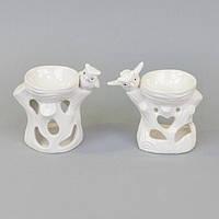 "Аромолампа для эфирных масел ""Сова"" CY605, керамика, 9х11х7 см, в коробке, аромалампа, аромо-лампа, аромо лампа для релакса"