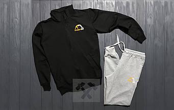 Спортивный костюм manto черного и серого цвета