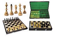 Шахматы деревянные ручной работы INDIAN Индиан коричневые, Арт. 3123