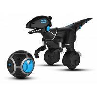 WowWee Укрощение зверя Miposaur Smart Robot 6 Режим игры APP Control Gesture Sense+Track Ball Чёрный