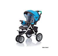 Детская прогулочная коляска Jetem Prism голубой (S901WFM/BLUECHECKER)