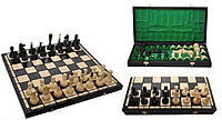 Шахматы деревянные черные Арт. 3127 Classic Класические