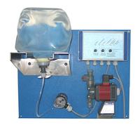 Дозуюча установка для розпилення соляного розчину в хамамі , лазні , сауні