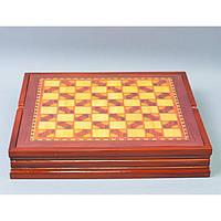 """Шахи """"Російські та татаро-монголи"""" 3106-3, 6 * 36 * 36 см, дерево, Подарункові шахи, Дерев'яні шахи, Інтелектуальні ігри"""
