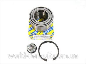 Комплект подшипника передней ступицы на Рено Логан, Логан MCV, Сандеро (без ABS)/ SNR/NTN R15562