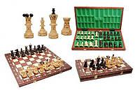 Шахматы деревянные коричневые 3128 Ambasador (Амбасадор)