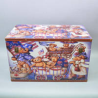 """Скриня дерев'яний для зберігання дрібниць """"Box"""" TL582-4, розмір 35х60х36 см, скриня для прикрас, скриня для речей"""