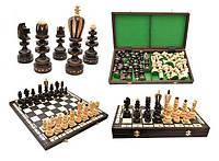 Шахматы деревянные ROMAN Роман, коричневые, Арт. 3131