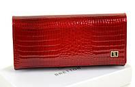 Женский кожаный кошелек BRETTON Lizard W1-V red кожаные кошельки оптом Одесса 7 км