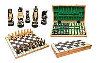 Шахматы деревянные POP Поп коричневые, Арт. 3132
