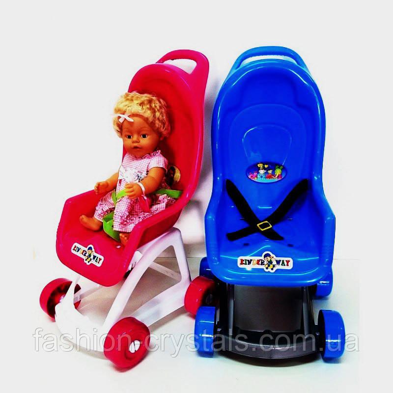 Детская коляска для кукол kinderway 4 цвета