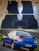 Коврики на Subaru Impreza '00-07. Автоковрики EVA