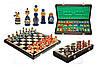 Шахматы коричневые лакированные MATRESHKI Матрешки, Арт. 3137