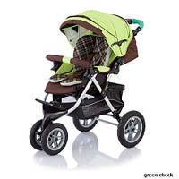 Детская прогулочная коляска Jetem Prism зеленый (S901WFM/GREENCHECKER)